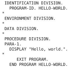 Do you remember COBOL Programming Language