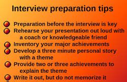 dreaded intervview tips