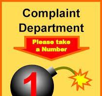 Complaining Contractors complain