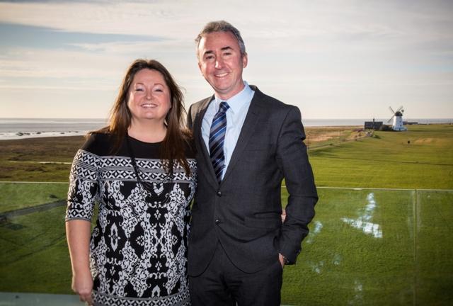 Damian and Helen Broughton of Danbro