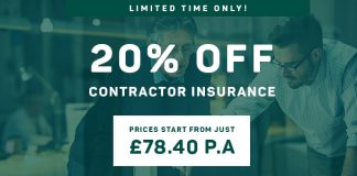 Contractor Insurance Offer